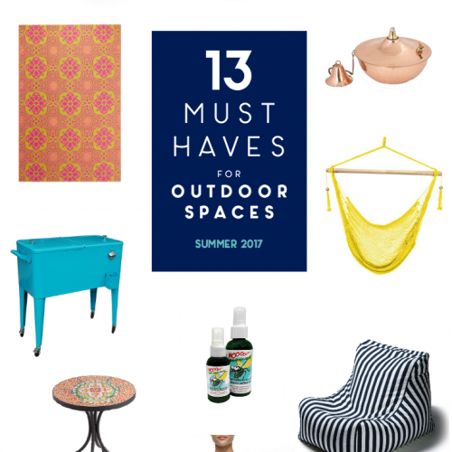 13 Must-Haves for Outdoor Spaces