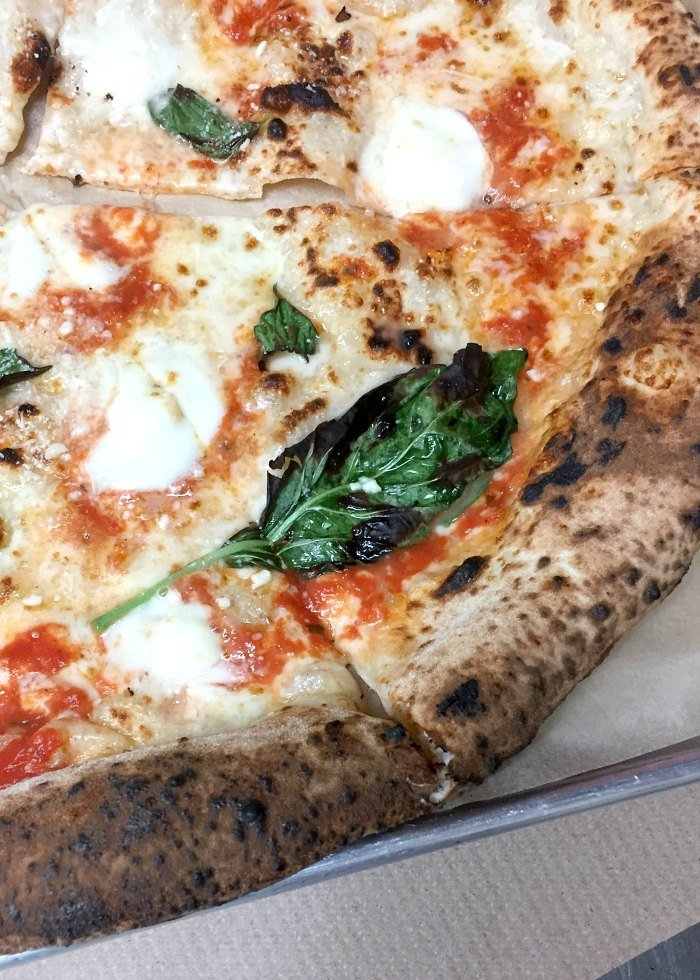 best pizza ever at Antico