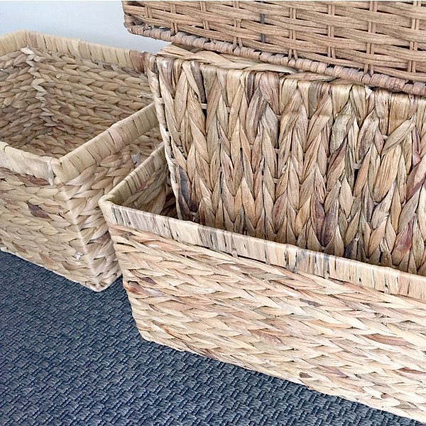 Where I Get Cheap (But Pretty) Storage Baskets