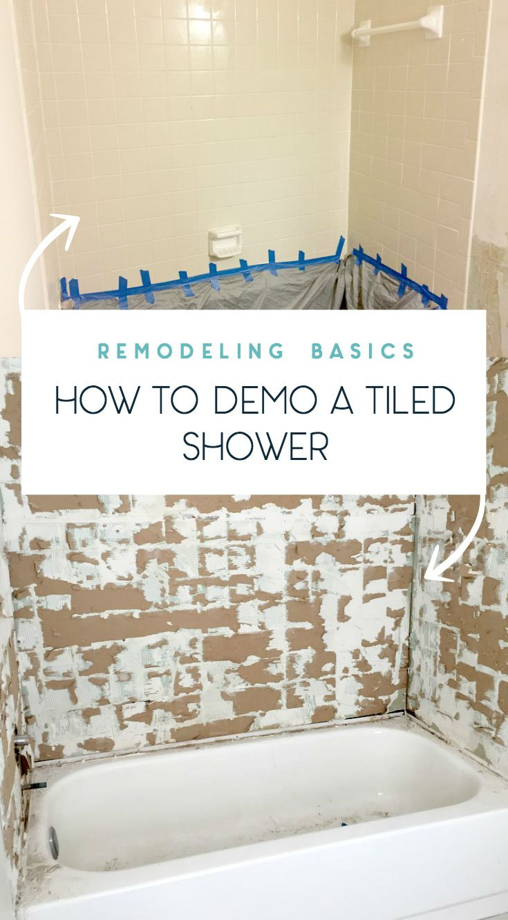 how-to-remove-old-tiled-shower-remodeling-and-demo-basics