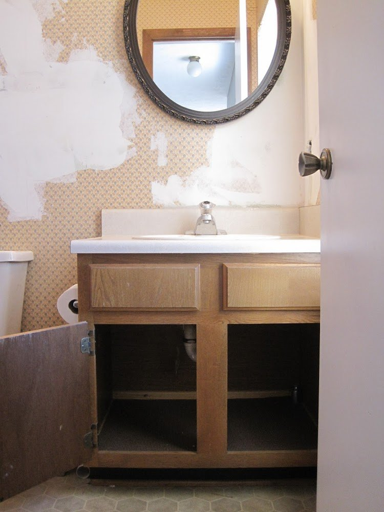 old master bathroom vanity