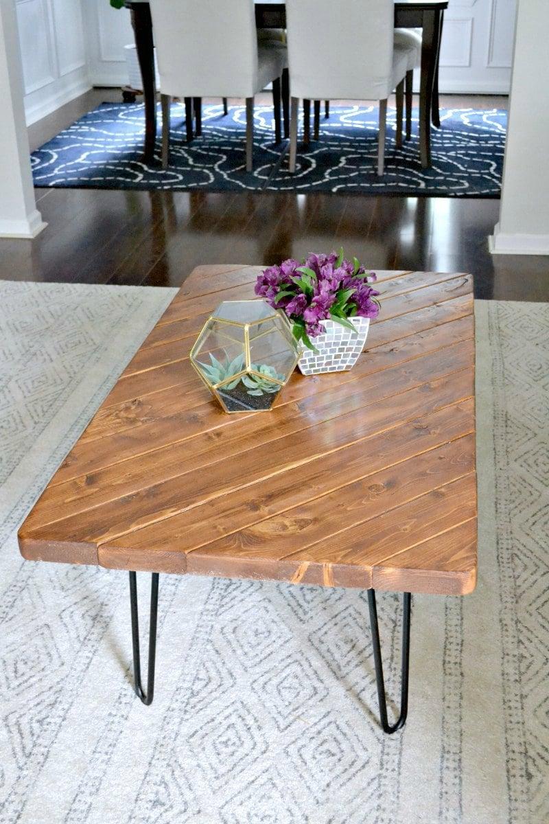 2x4 challenge diy coffee table