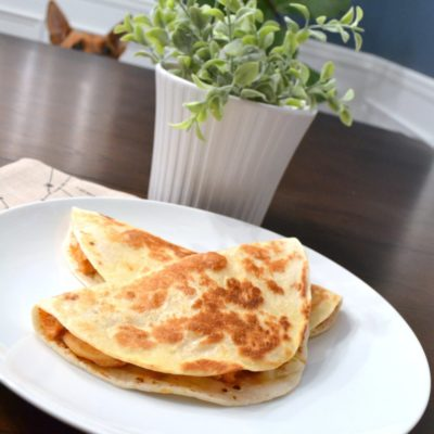 5-Ingredient Spicy Chicken Quesadillas