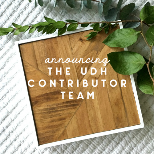 Announcing Contributors to the UDH!
