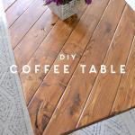 coffee table diy scrap wood