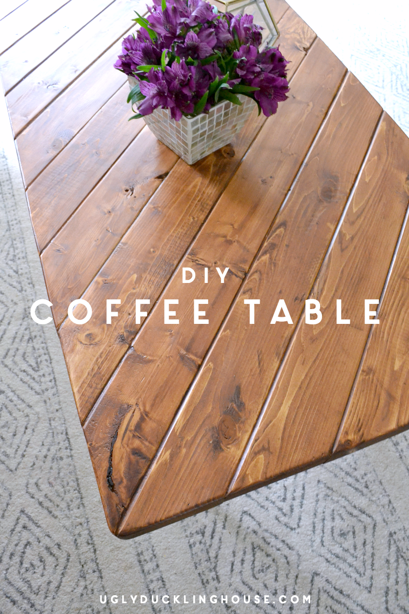 After selling off my old furniture, I needed a coffee table - quick. Using scrap lumber and hairpin legs, I created a quick DIY project anyone can do.