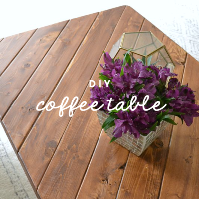 My 15-Minute DIY Hairpin Leg Coffee Table