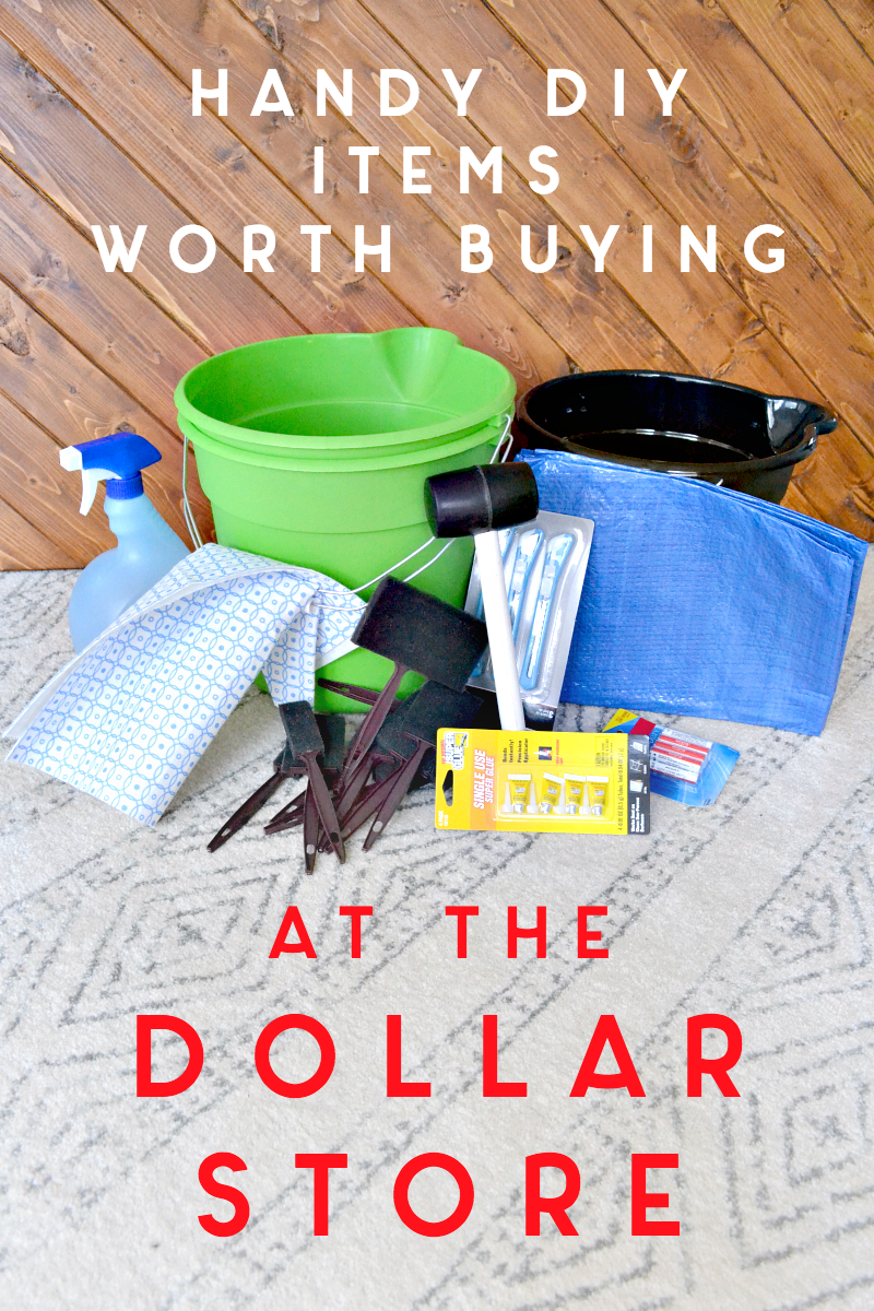 handy home repair items worth buying at the dollar store