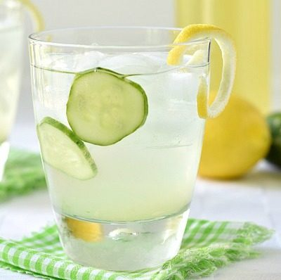 limoncello cucumber cooler cocktail