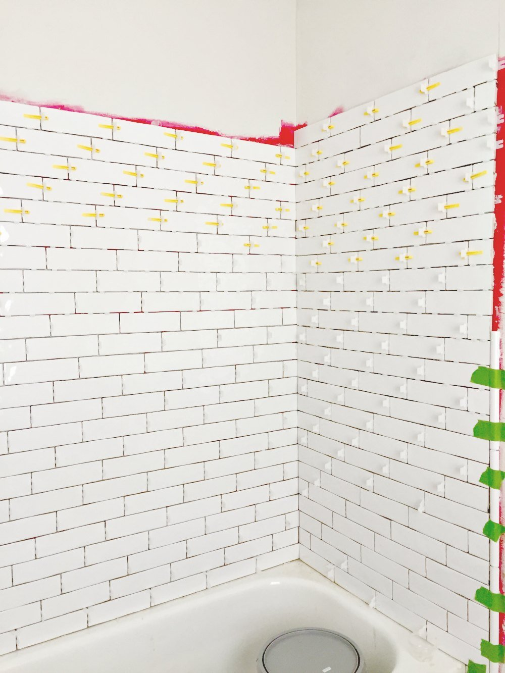 Tiling A Bathtub Shower