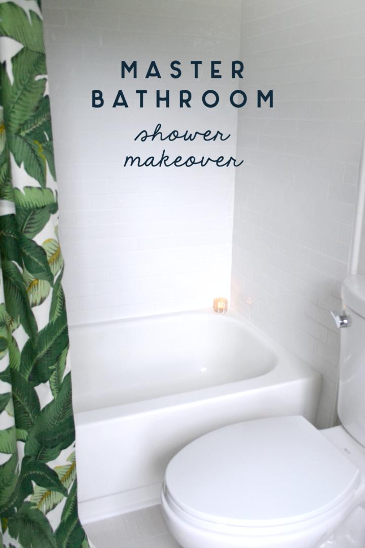 Master Bath Makeover Shower Reveal Ugly Duckling House - Makeover my bathroom