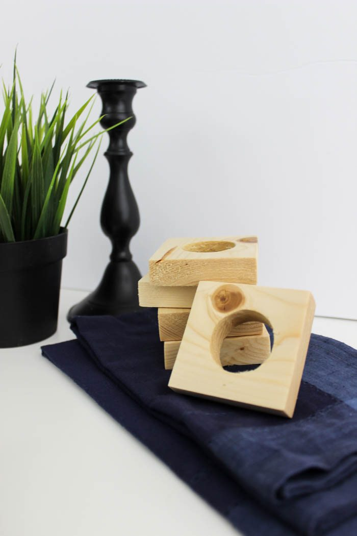 Simple Square Napkin Rings Ugly Duckling House