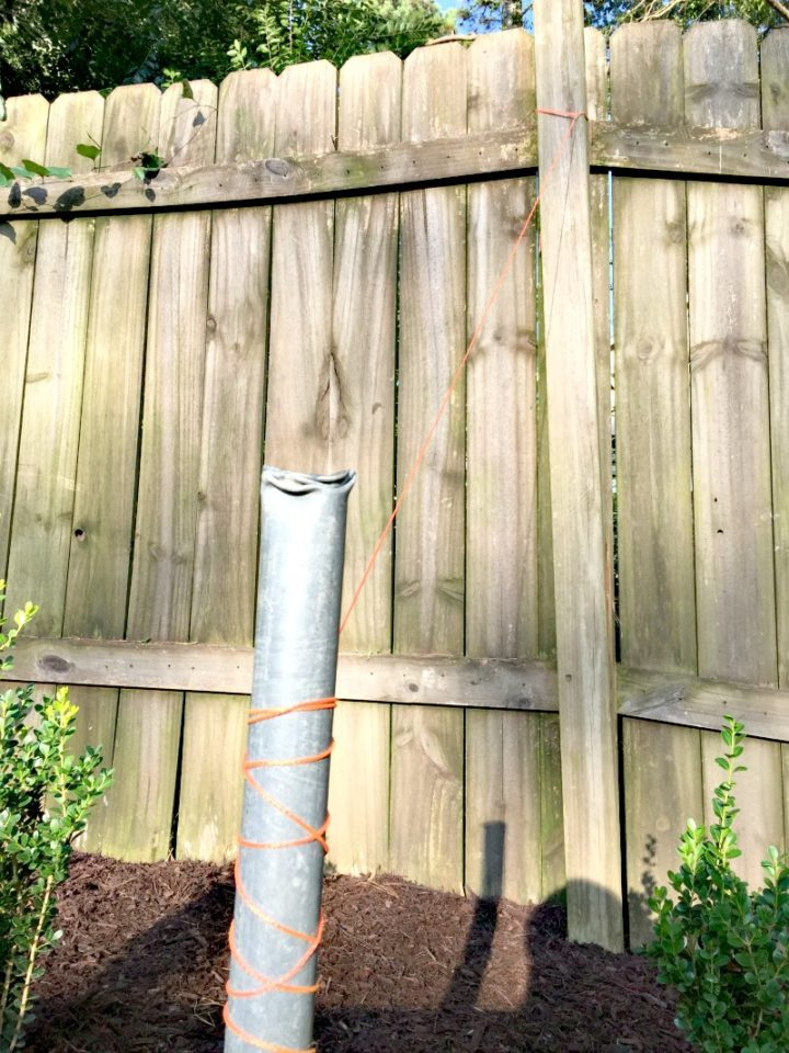 Removing the Chain Link Fence! (And Trying to Be a Good Neighbor