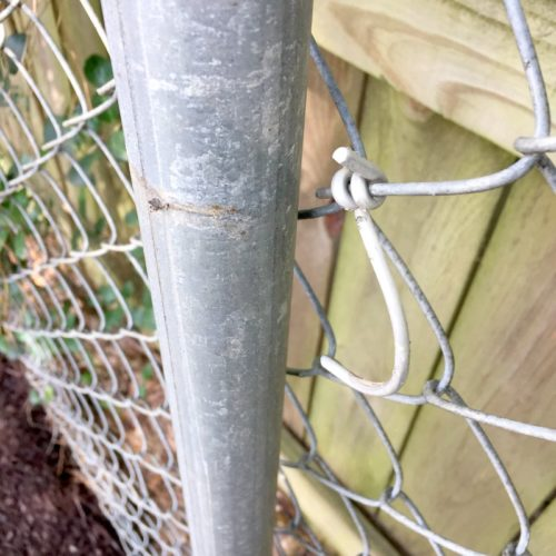Removing the Chain Link Fence! (And Trying to Be a Good Neighbor)