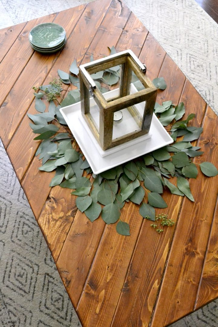 simple fall coffee table