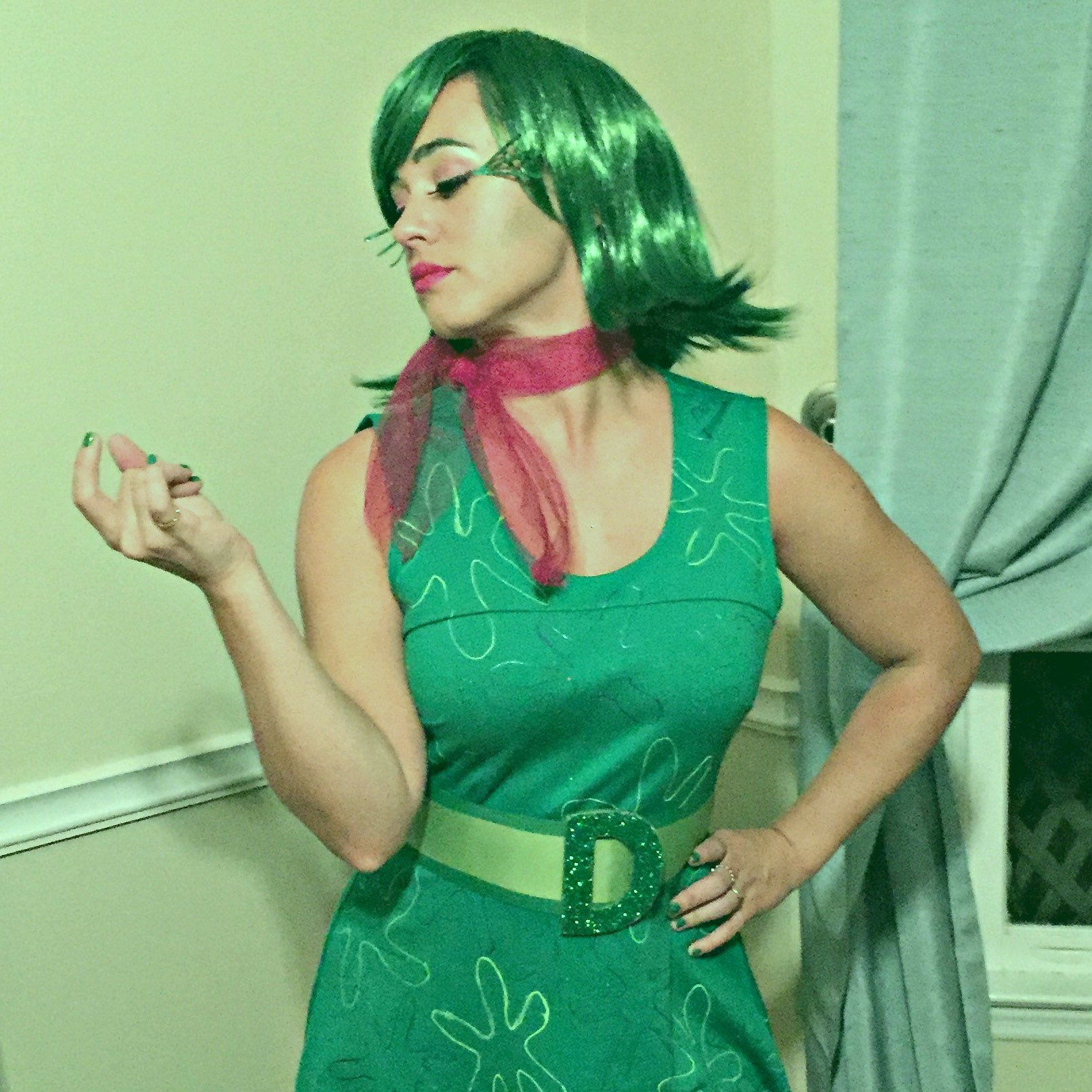 Diy Disgust Costume Inside Out Ugly Duckling House
