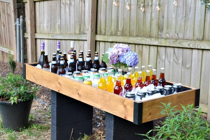 outdoor party cooler