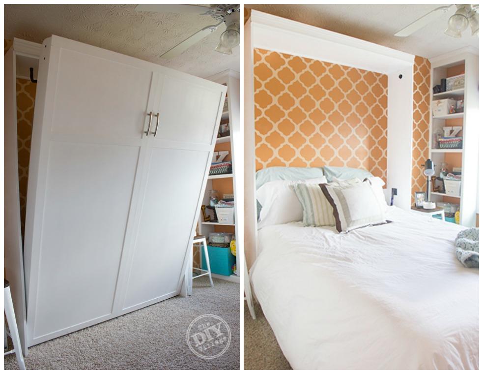 DIY Village murphy bed setup