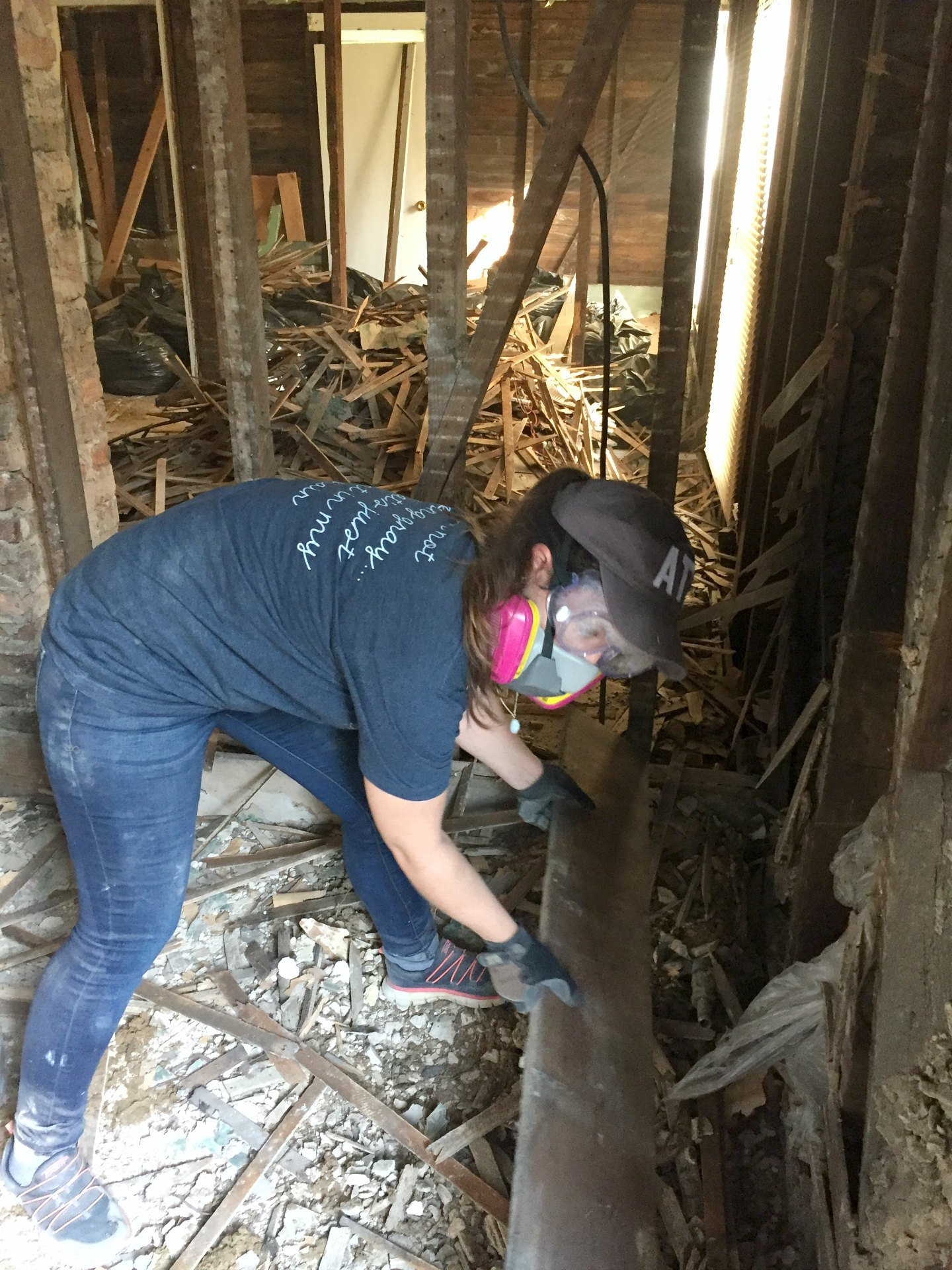 Visiting Raleigh with My Remodeling Besties — and the HARD Work of Saving Etta