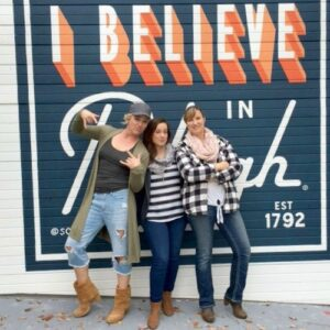 Sandra Sarah and Brittany in Raleigh