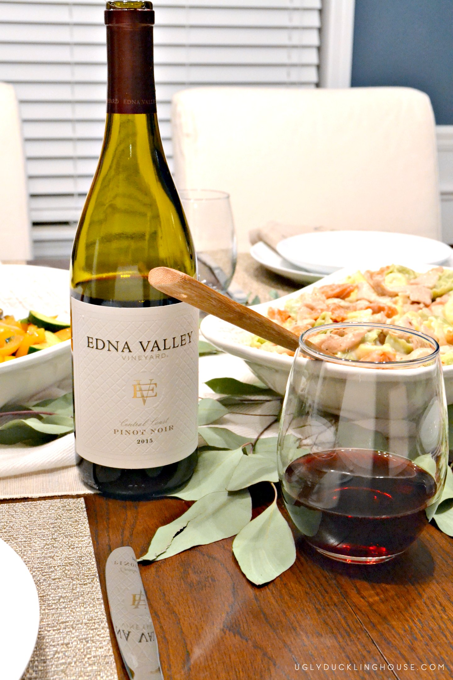 enjoying Edna Valley at home while entertaining friends and family