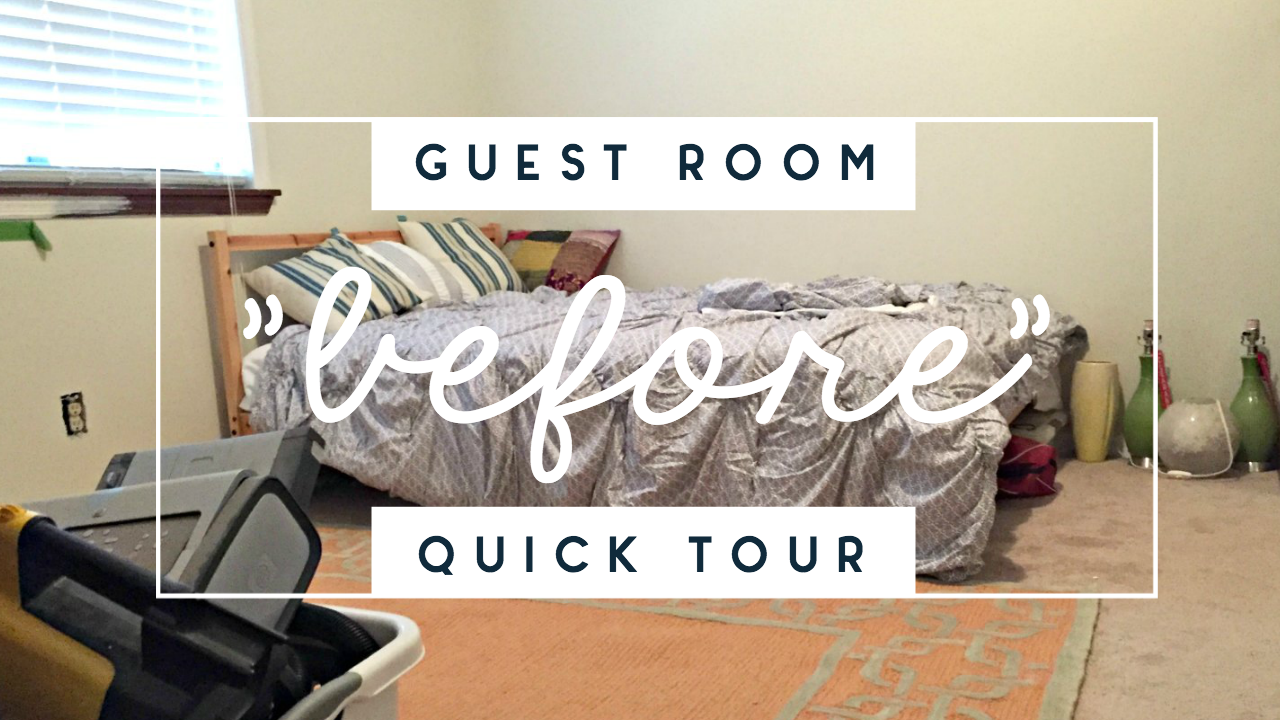 The Saddest Little Guest Bedroom, Probably Ever (and Video!)