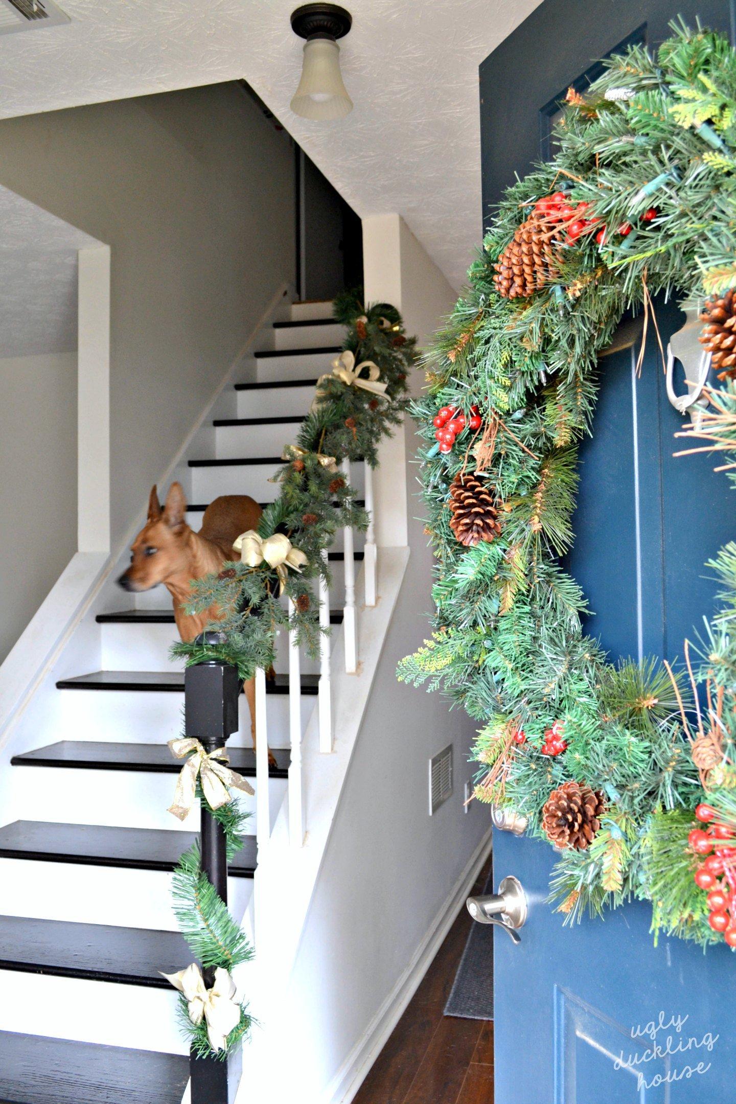 Christmas front door