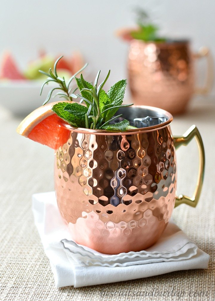 Grapefruit Moscow Mule: A Tangy Twist on a Classic