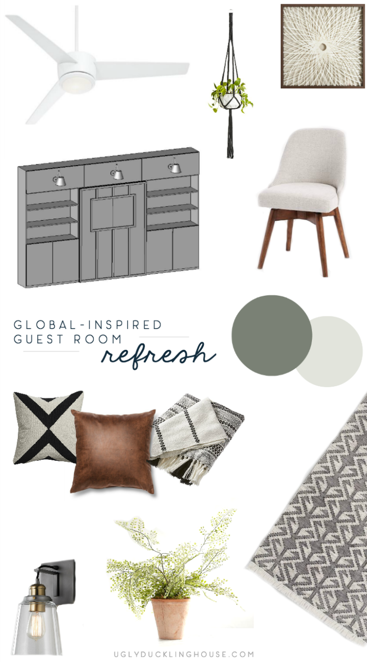 Guest Bedroom Mood Board