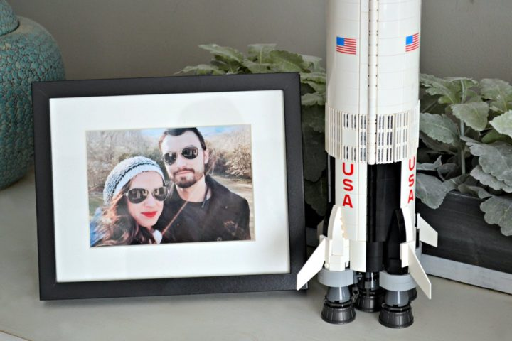 k and my valentines day project - lego saturn v rocket