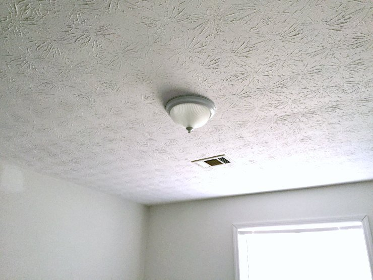 ugly boob light - guest bedroom