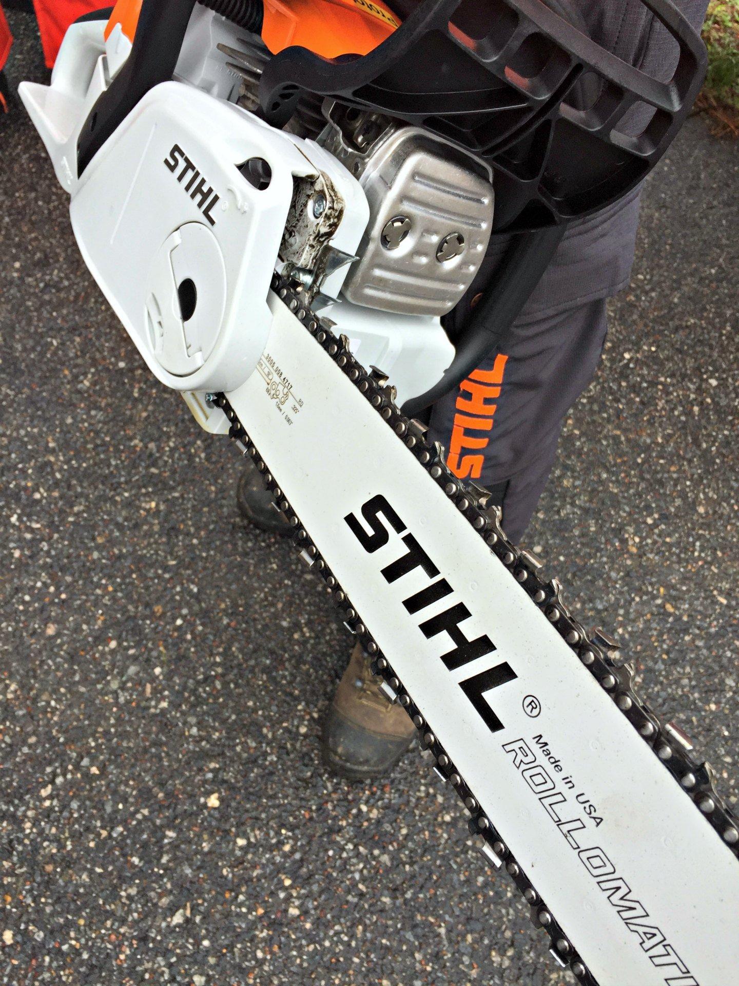 STIHL chainsaw awesomeness