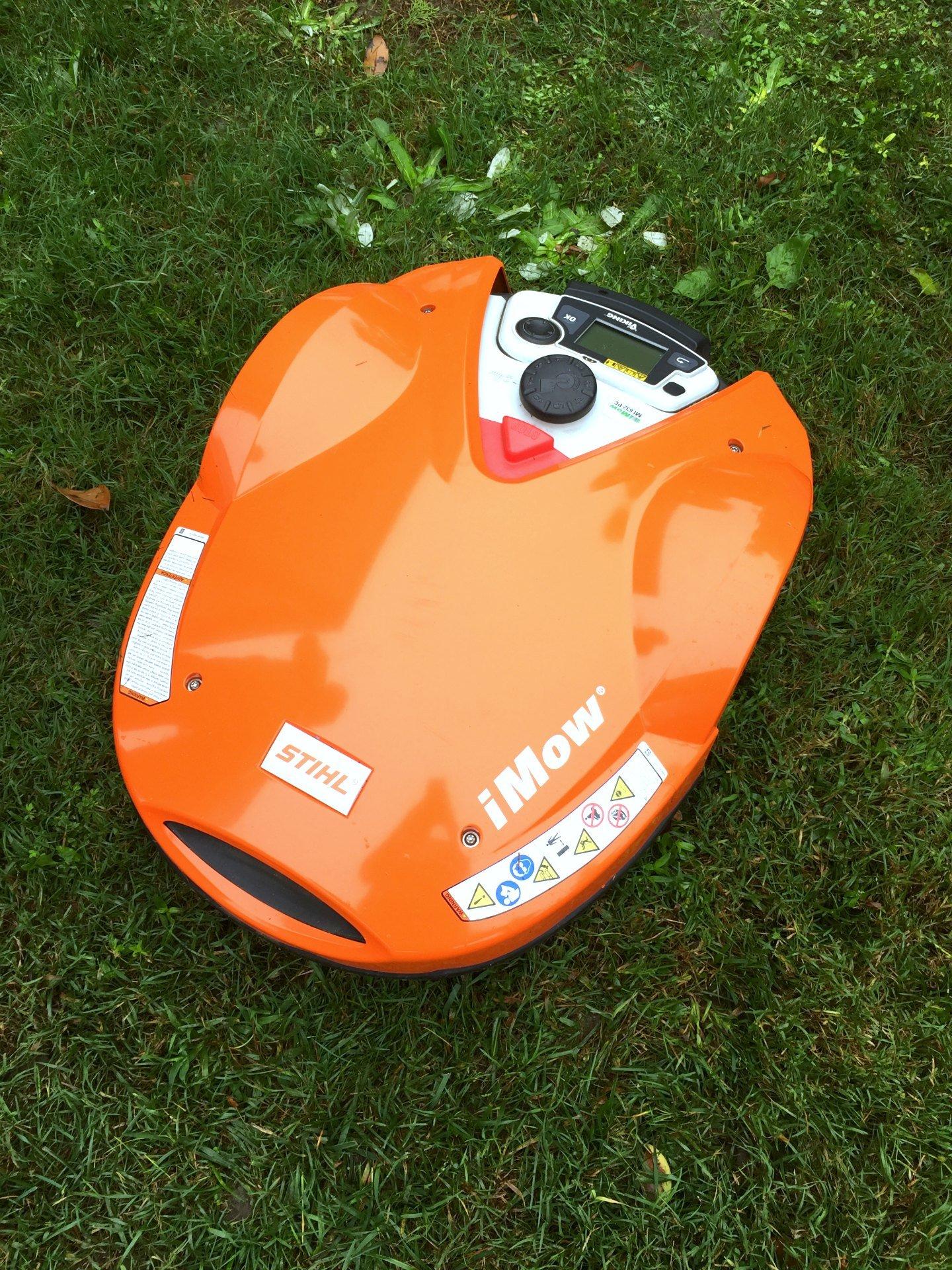 STIHL iMow robot lawn mower