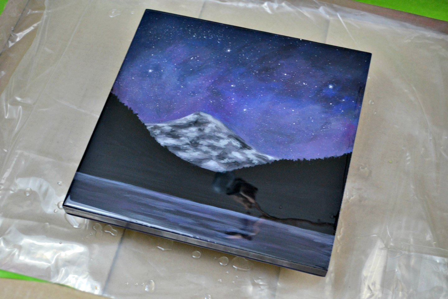 How to Seal Art with Resin & Get a High Gloss Finish • Ugly