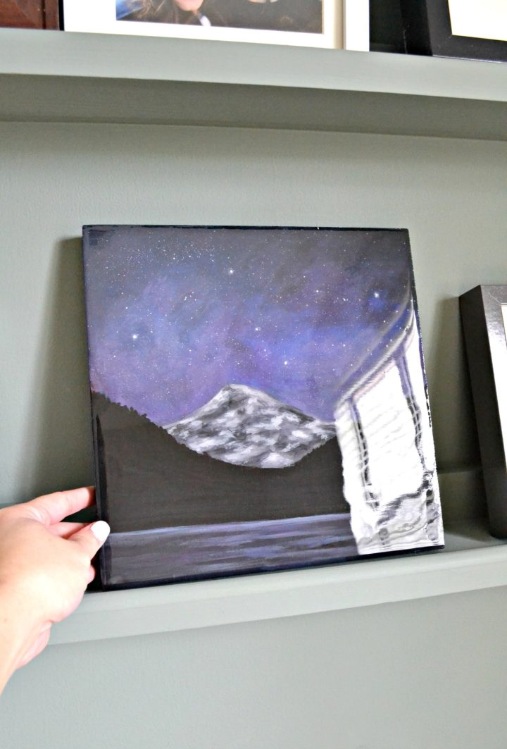 how to seal art with epoxy resin