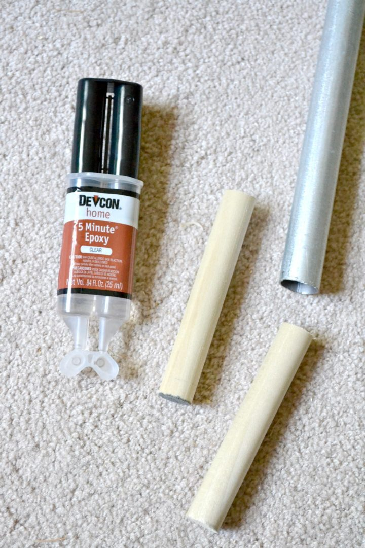 epoxy glue for joining wood and metal