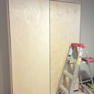 Dueling DIY: Installations and Seeing the Finish Line