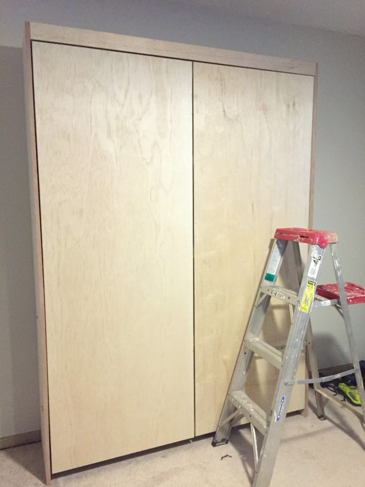 murphy bed installed
