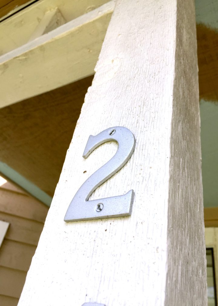 old house numbers