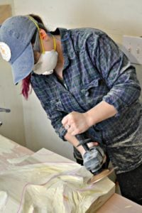 power carving wall art - sarah from ugly duckling house