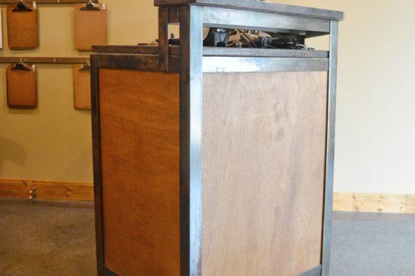 Wood and Metal DIY Industrial Desk
