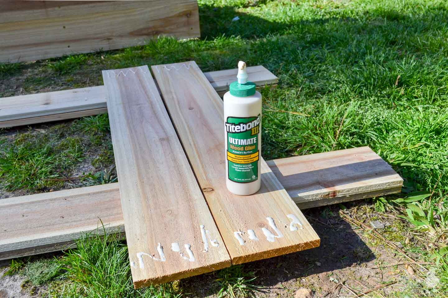 titebond iii exterior wood glue