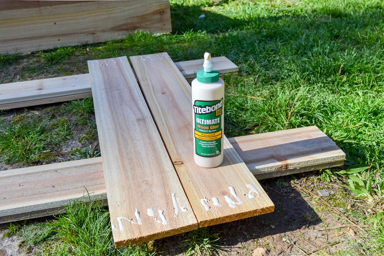 titebond iii exterior wood glue
