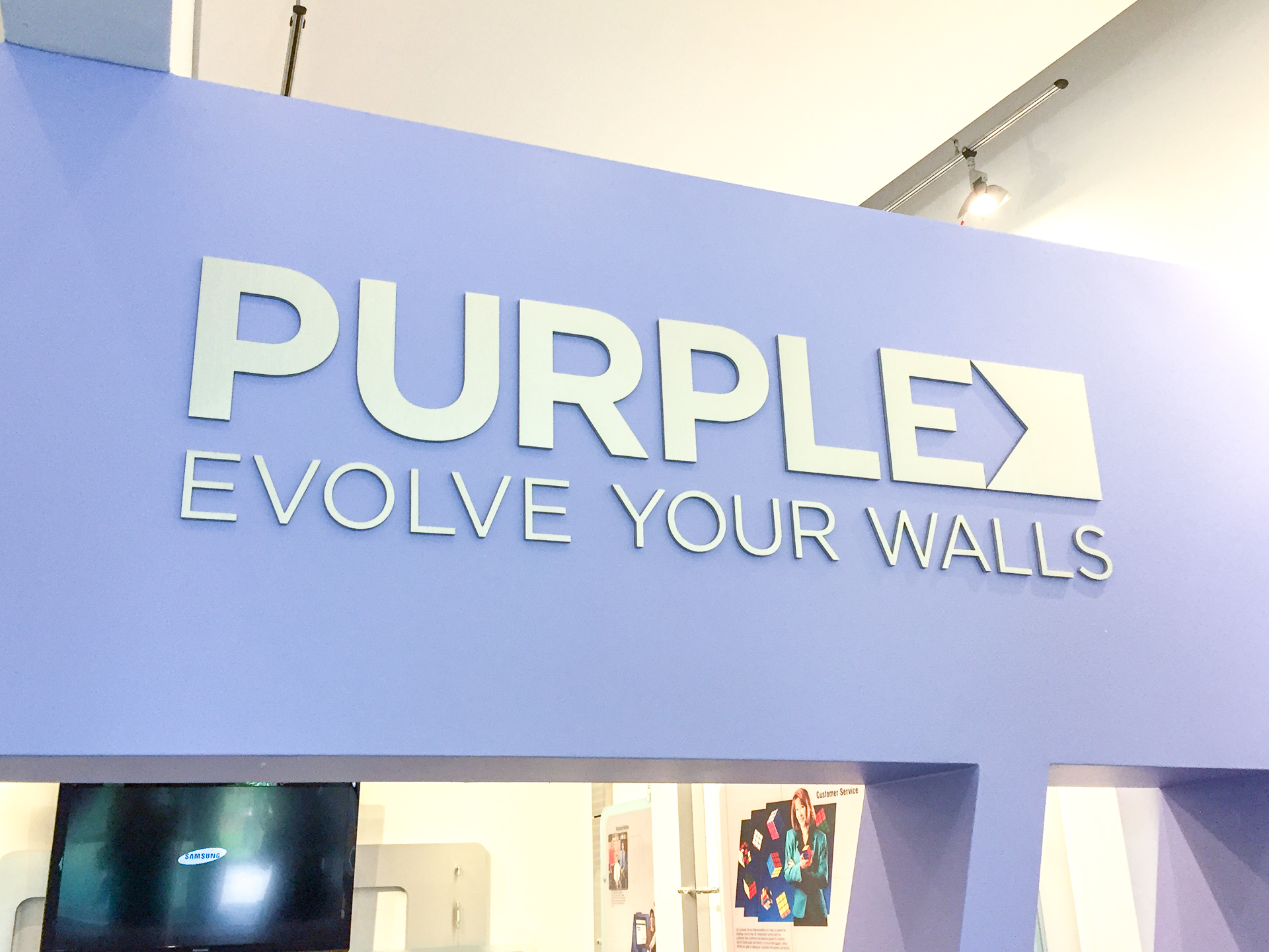 Purple headquarters and showroom