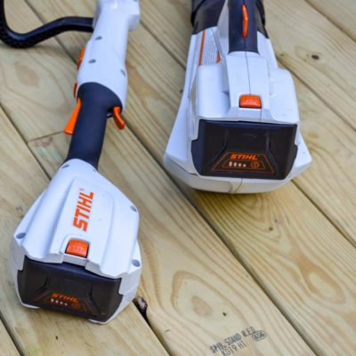 STIHL trimmer and blower