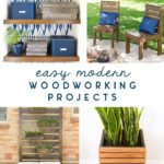 easy modern woodworking projects