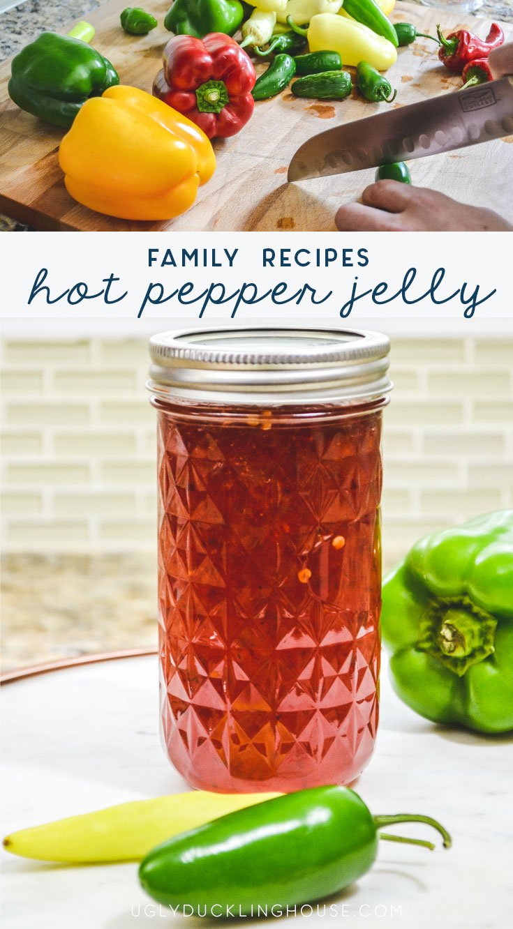 family recipes - mom's hot pepper jelly