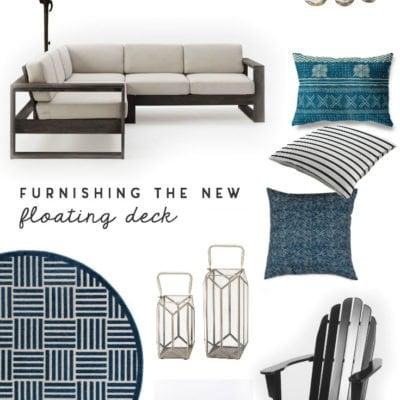 Decorating Ideas for Furnishing the New Deck