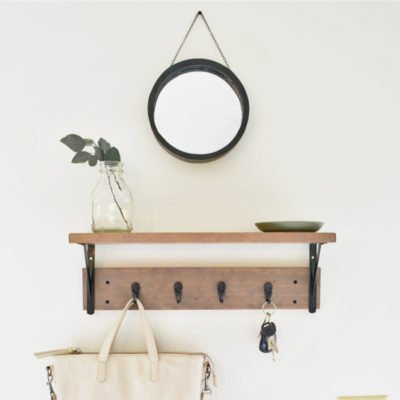 How to Frame a Round Mirror – No Fancy Tools