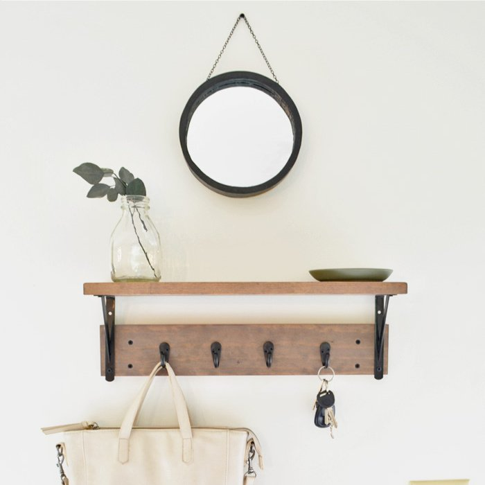 how-to-frame-a-round-mirror-easy-tutorial